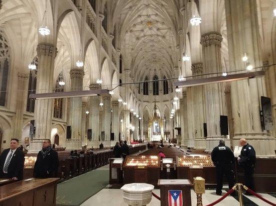 Vista do altar.
