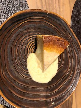 Tarta de queso con galletas maría,  cremosa y deliciosa