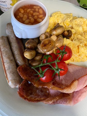 Full English Breakfast at Café FeVa