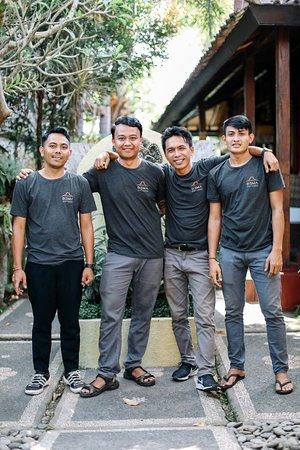 Balinese Staff
