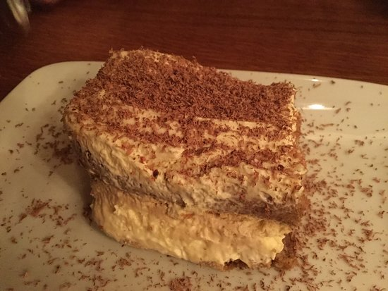 one of two desserts