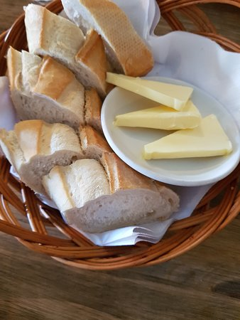 Lovely warm fresh bread and butter to get you going