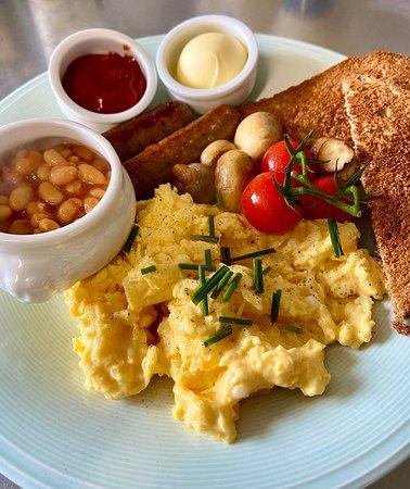 Vegetarian Breakfast at Café FeVa