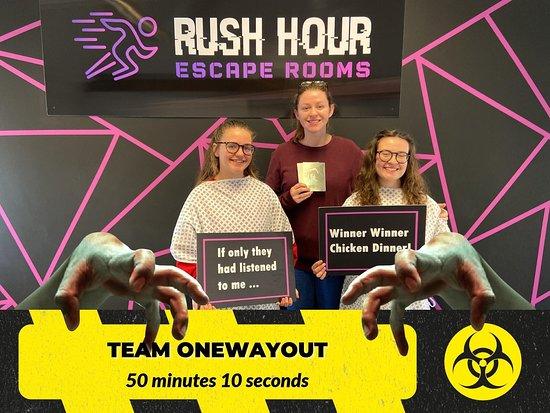 Rush Hour Escape Rooms