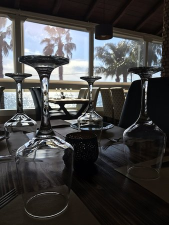Loutra Edipsou, Grecia: Le Palme Luxury Beach Club Restaurant