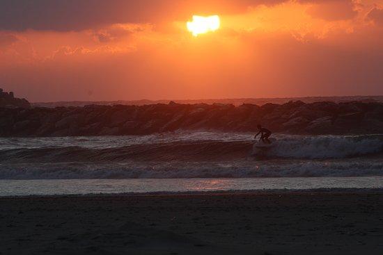 Acadia Beach: Magical sunset hour