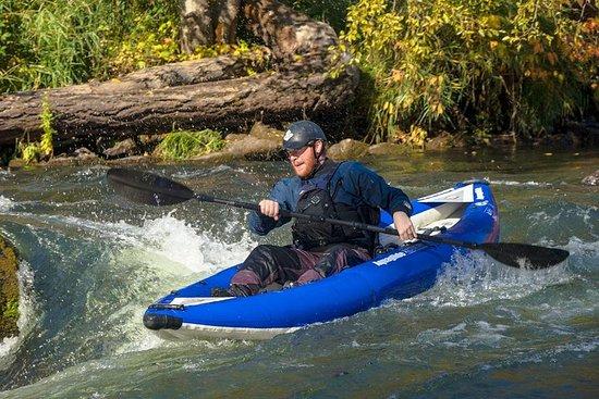 Location de kayak gonflable (une...