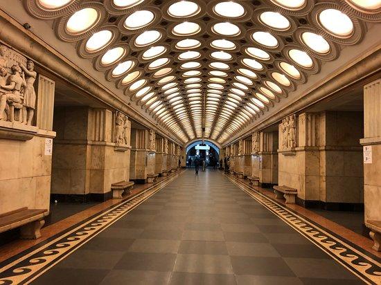 Tour of the Moscow metro