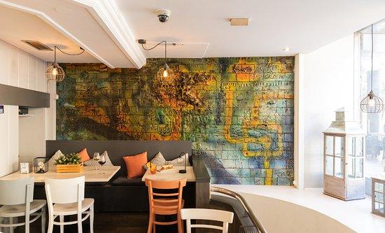 Interior en Bar Café Santiago