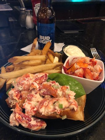 March 2019 (side of lobster meat ordered separately and not part of the lobster roll)