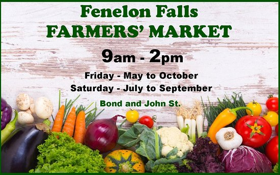 Fenelon Falls, Canada: The market is now going to run both Friday and Saturday.