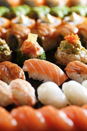 Sushi Station Picture Of Skycity Bistro Hong Kong Tripadvisor Fresh sushi platter for your special event! tripadvisor