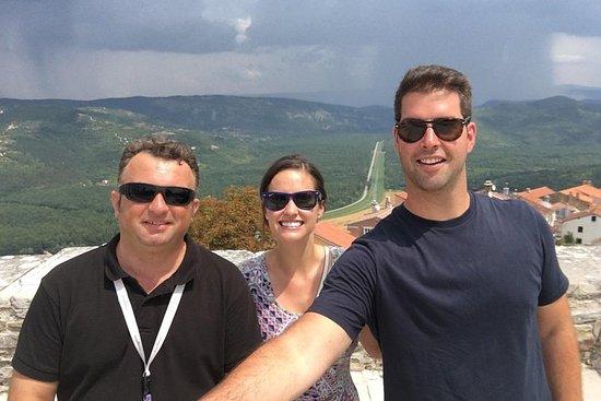 Tour delle città sulle colline istriane con degustazione di tartufo e