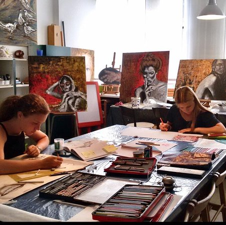 Art Classes - Atelier Azzurro Milano