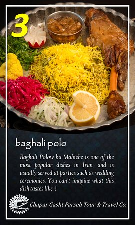 the 7 delisious Iranian food