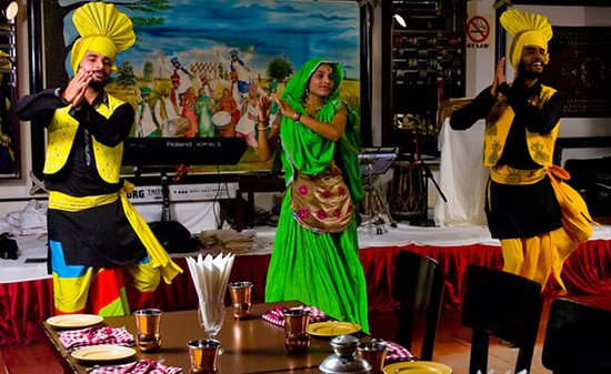 """Reviving the legacy of famous North Indian """"Dhaba"""". Featuring Live Singers & Bhangra Dancers. Serving Sumptuous North Indian Cuisine, the very best of Kebabs & Curries."""