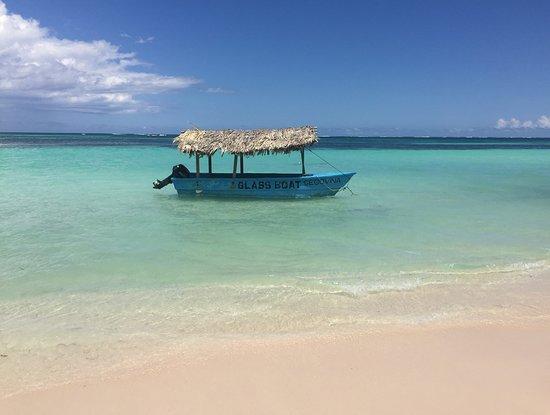 Dominikanische Republik: Glass boat