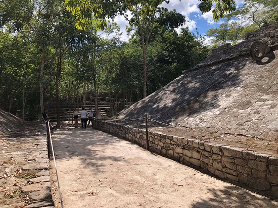 Coba, Tulum and Cenote Swim: Coba archeological site - Maya playground