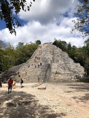 Coba, Tulum and Cenote Swim: Coba archeological site