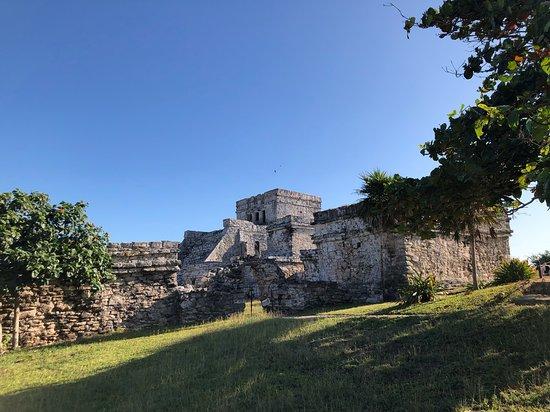 Coba, Tulum and Cenote Swim: Tulum archeological site