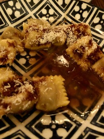 chestnut filled ravioli was the way to go!