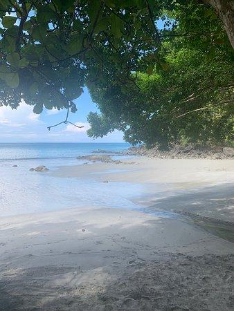 Beach area at Tulemar