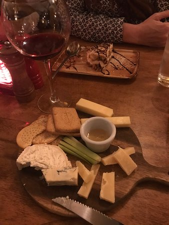 Cheese board.....asked for...not on the menu.