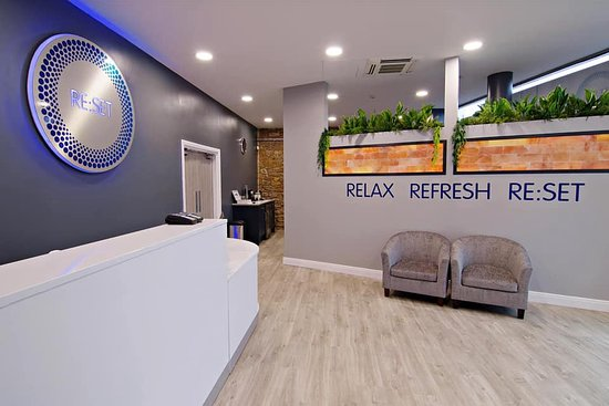 Re:set Reception Area