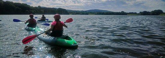 Talkin, UK: Kayaking for groups