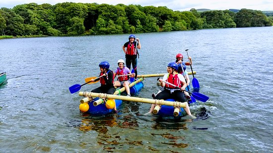 Talkin, UK: Raft Building Hen Parties