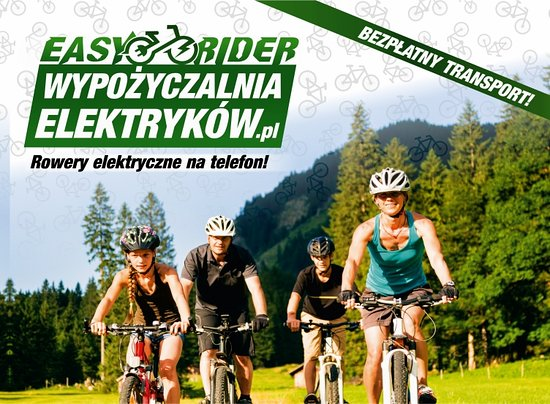 Wypozyczalnia rowerow elektrycznych Easy Rider