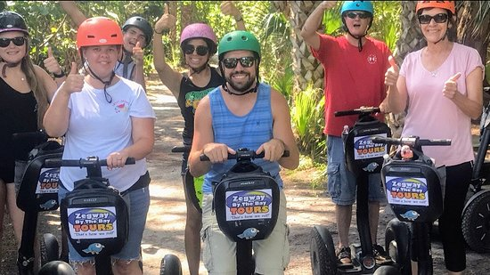 Holmes Beach, FL: Segway Tours are Fun for the whole Family.