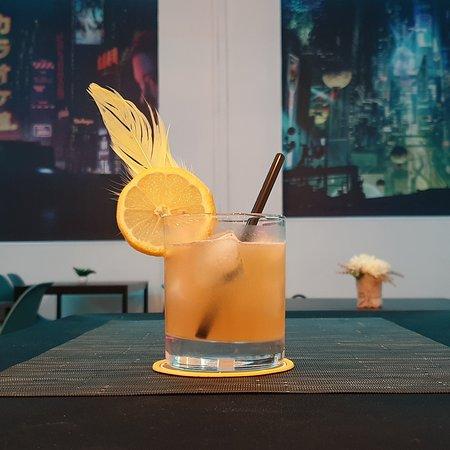 """Il """"Chocobo"""", uno dei nostri cocktail a tema !"""