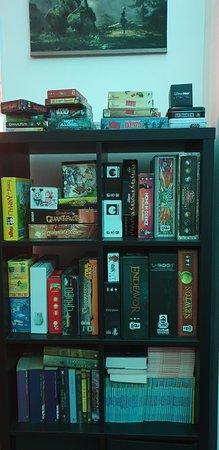 Al Project Neverland troverete più di un centinaio di giochi da tavolo in una collezione in continua espansione e con titoli davvero per tutti i gusti !