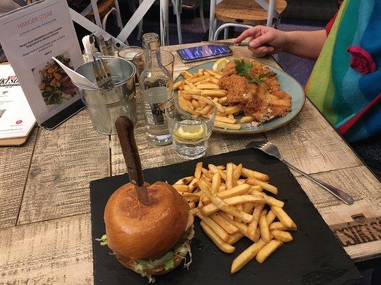 Burger au top !