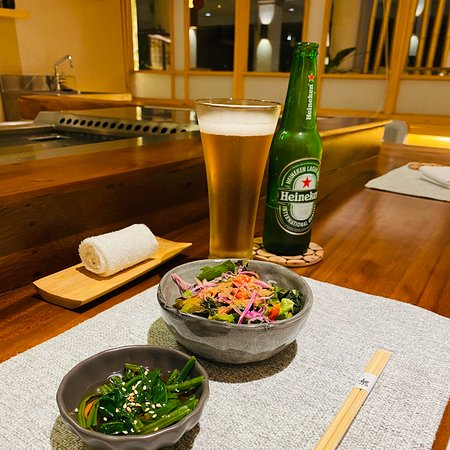 Nice and cozy Japanese fine-dining.