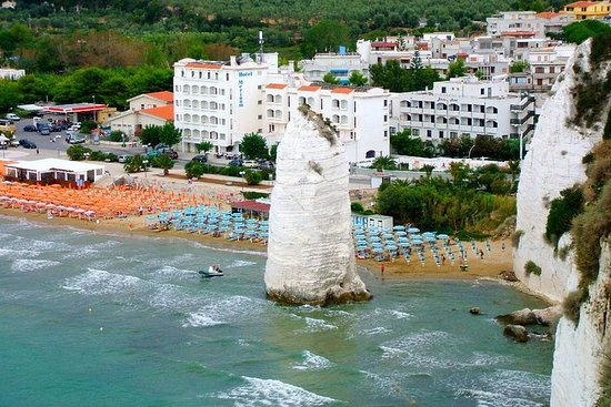 Vieste private guide: beautiful town with small street and lovely...