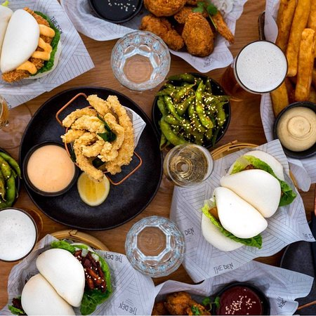 The Den, Tasmania, Salamanca, bar, restaurant, calamari and food