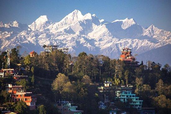 Nagarkot Sunrise og Bhaktapur privat...