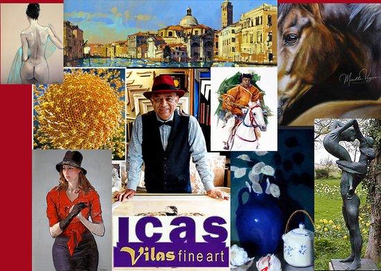 เลทชเวิร์ท, UK: ICAS gallery 2020 exhibition