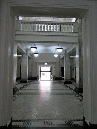 a side entrance