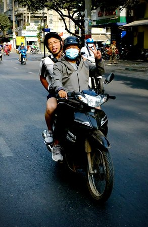 Private Street Food Tour by Motorbike with Local Students Fotografie