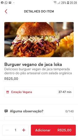 Não existe o restaurante e o delivery tem propaganda enganosa