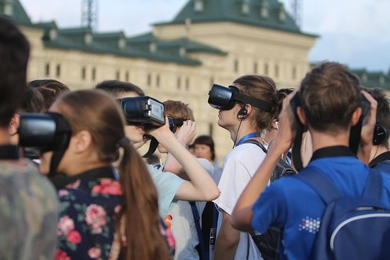 """Moscow """"Past and Future"""" Virtual Reality Tour """" Photo"""