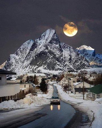 Lofoten, na Noruega ❄❤