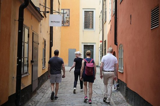 Stockholm à pied en petit groupe