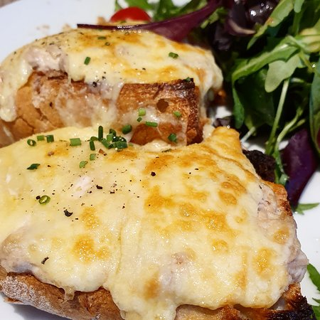 All the cheese on our Tuna melt