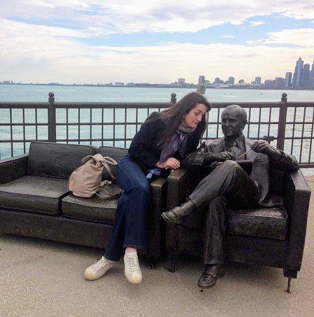 Bob Newhart Statue