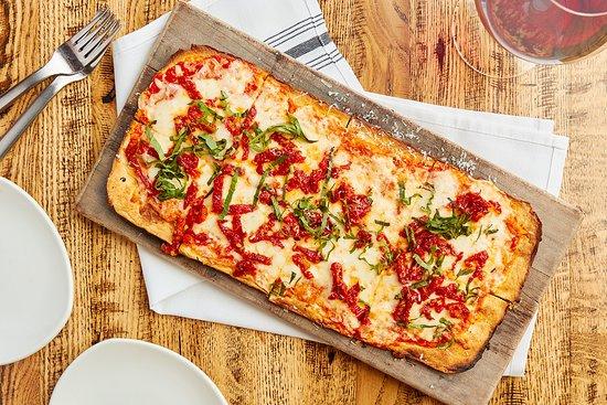 Tomato and Mozzarella Flatbread