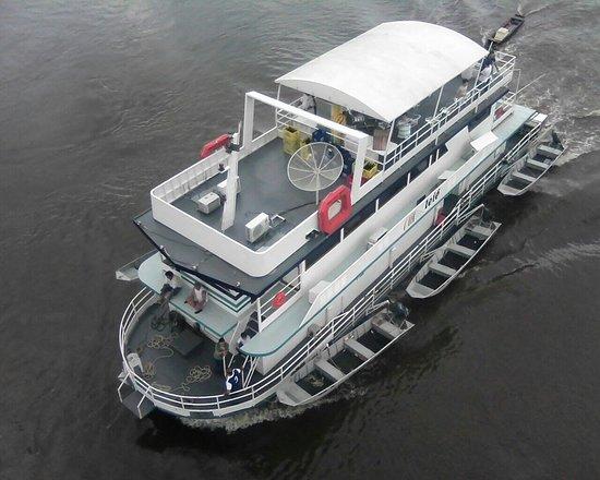 Porto Joffre: Nossa embarcação